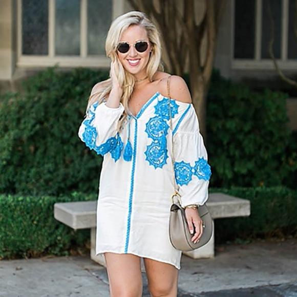 Line & Dot Dresses & Skirts - Line & Dot 'Beaux' embellishment mini dress